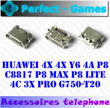Connecteur charge USB charging port connector Huawei 4X 4X Y6 4A P8 C8817 P8 max