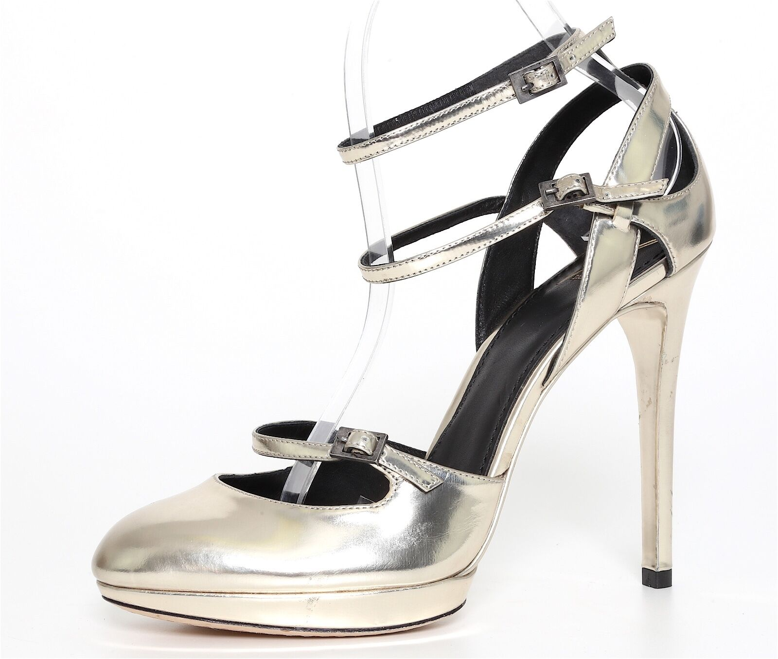 Brian Atwood Atwood Atwood Metallic Leather Pumps femmes Sz 8 2599 6fa993