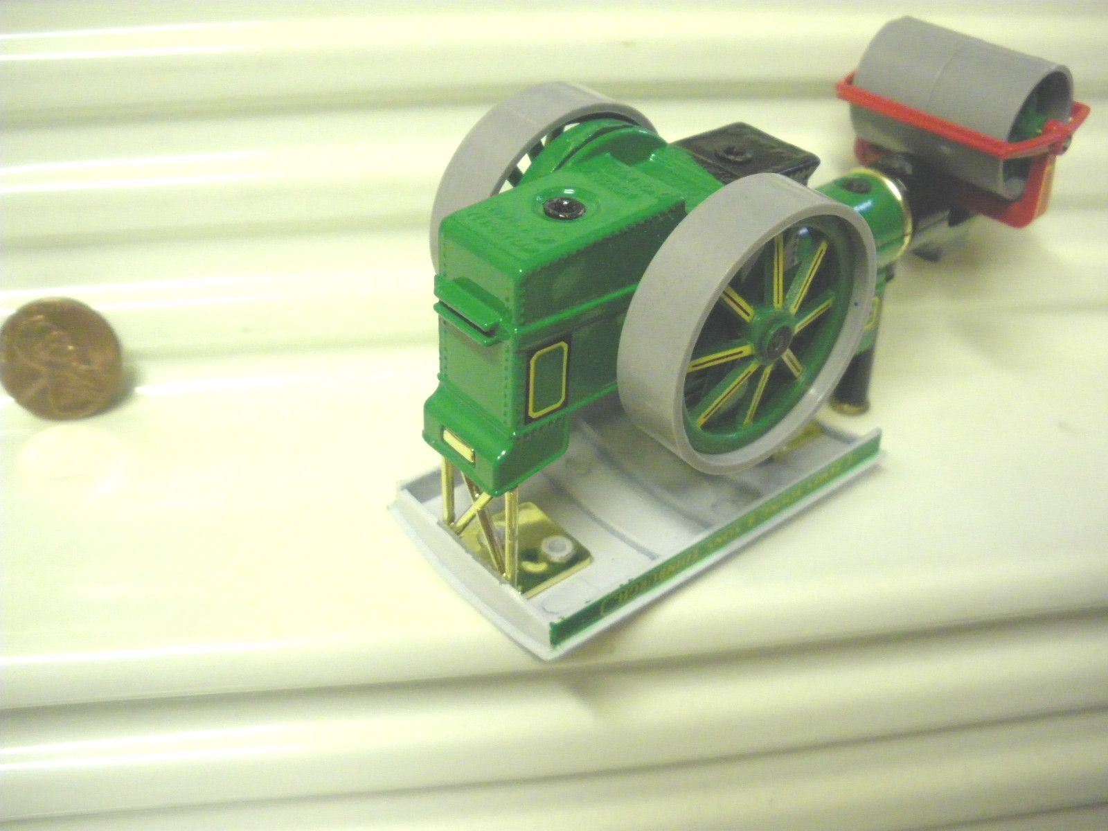 MATCHBOX MODELS OF YESTERYEAR 1987 Y21C 1894 A &P ROLLER No Inscription ROOF MB