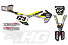 Motocross Dekor Husqvarna TC FC FE TE 125 250 350 450 2014 - 2017