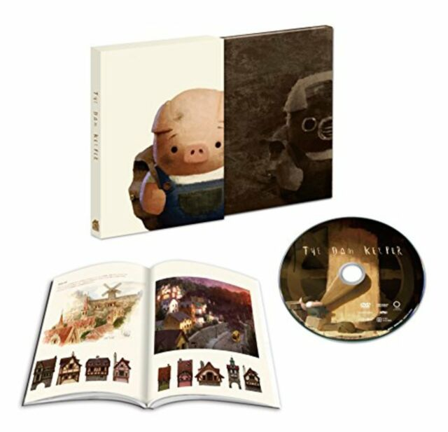 The Dam Keeper DVD Japanese English Region2 F/S with Tracking# New from Japan