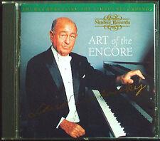 Shura Cherkassky: ART of the Encore CHOPIN LISZT Schubert Impromptu Nimbus CD 95
