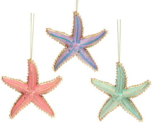 Gisela Graham Assorted étoile de mer sous la mer Suspendu Décorations pour arbres de Noël
