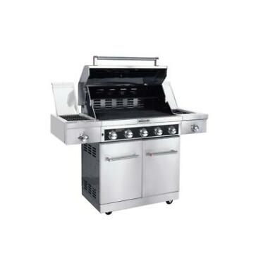 KitchenAid 720-0893D Stainless Steel 5-Burner Propane Gas Grill