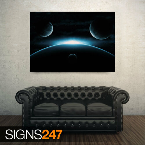 Space Photo Picture Poster Print Art A0 A1 A2 A3 A4 3161 DIGITAL PLANETS