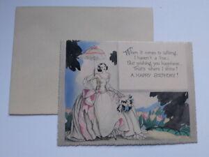 Happy Birthday Girl Greeting Card w//Envelope NEW
