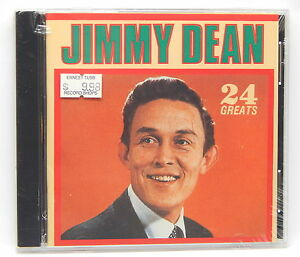 Jimmy-Dean-24-Greats-NEW-CD-1987-Highland-Music-Deluxe-USA-DCD-7860