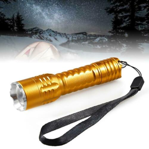 Flexible LED Flashlight Super Bright Pocket 20000LM Aluminium Flashligt BE