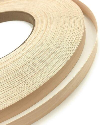 "Edge Supply Birch 3//4/"" X 50/' Roll Iron on wi Wood Veneer Edge Banding Preglued"