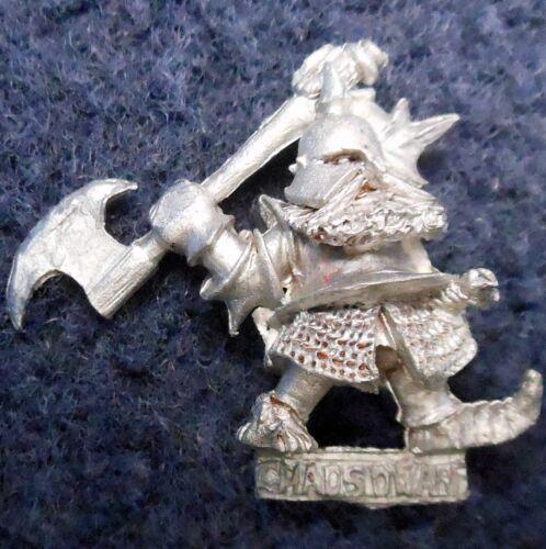 1985 Chaos Dwarf 0304 09 C16 Skarsol Smashskull Citadel Warhammer Army Evil GW