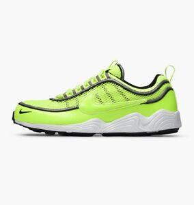 77a9cf14a9cb7 New Mens Nike Zoom Spiridon SPRDN Volt White Black Trainers UK 7 ...