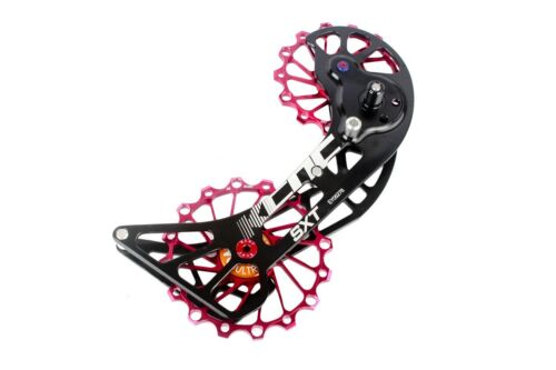 KCNC SXT MTB Cycling Bike Oversized Pulley Cage for Shimano M9000//M8000 Red