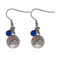 University of Alabama in Huntsville-Frankie Tyler Charmed Earrings-Blue