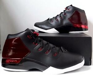 512a5d472d3 New Nike Air Jordan 17 + XVII Retro Black Gym Red Bulls Bred SZ 17 ...
