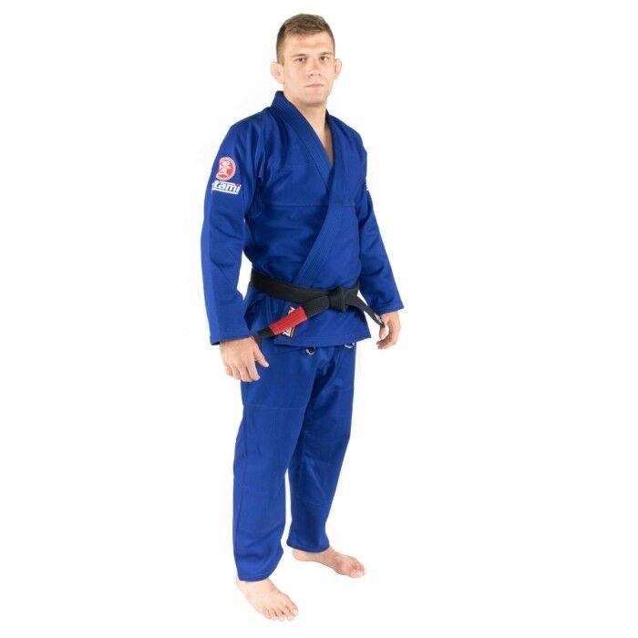Tatami Nova Minimo 2.0 Bjj Gi Blau Jiu Jitsu Kimono Uniform Gratis Weißer Gürtel