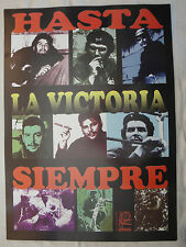 OSPAAAL POSTER 2011 HASTA LA VICTORY SIEMPRE CHE GUEVARA IMAGES RAFAEL ENRUGUEZ