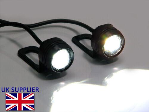 Tagfahrlicht//Nebelscheinwerfer Super Bright Cree LED Motorrad Spiegel Halterung