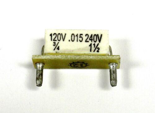 1.5hp @ 180vdc KB Electronics KB-9842 horsepower resistor 3//4hp @ 90-130vdc