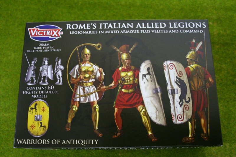 Victrix ROME'S ITALIAN ALLIED LEGIONS 28mm VXA009