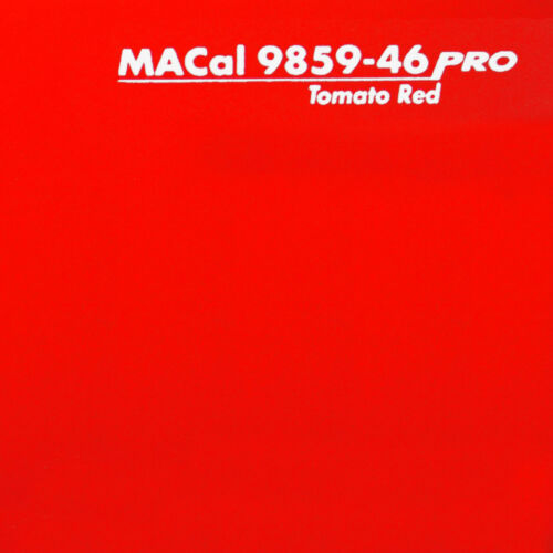 13,95 € //m Plotterfolie tomatenrot glänzend Selbstklebefolie 61,5 cm 1 m