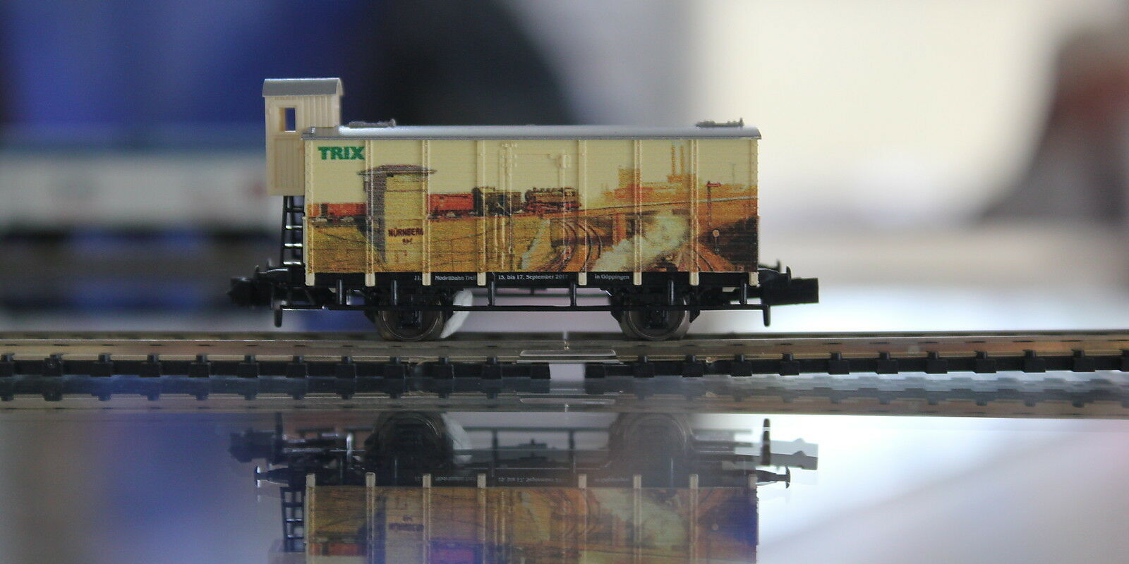 Trix 91111 IMA Special Vehicle 11. Model Train Exhibition 2017 in the Tin