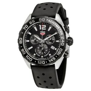 NEW-Tag-Heuer-Formula-1-Men-039-s-Chronograph-Watch-CAZ1010-FT8024