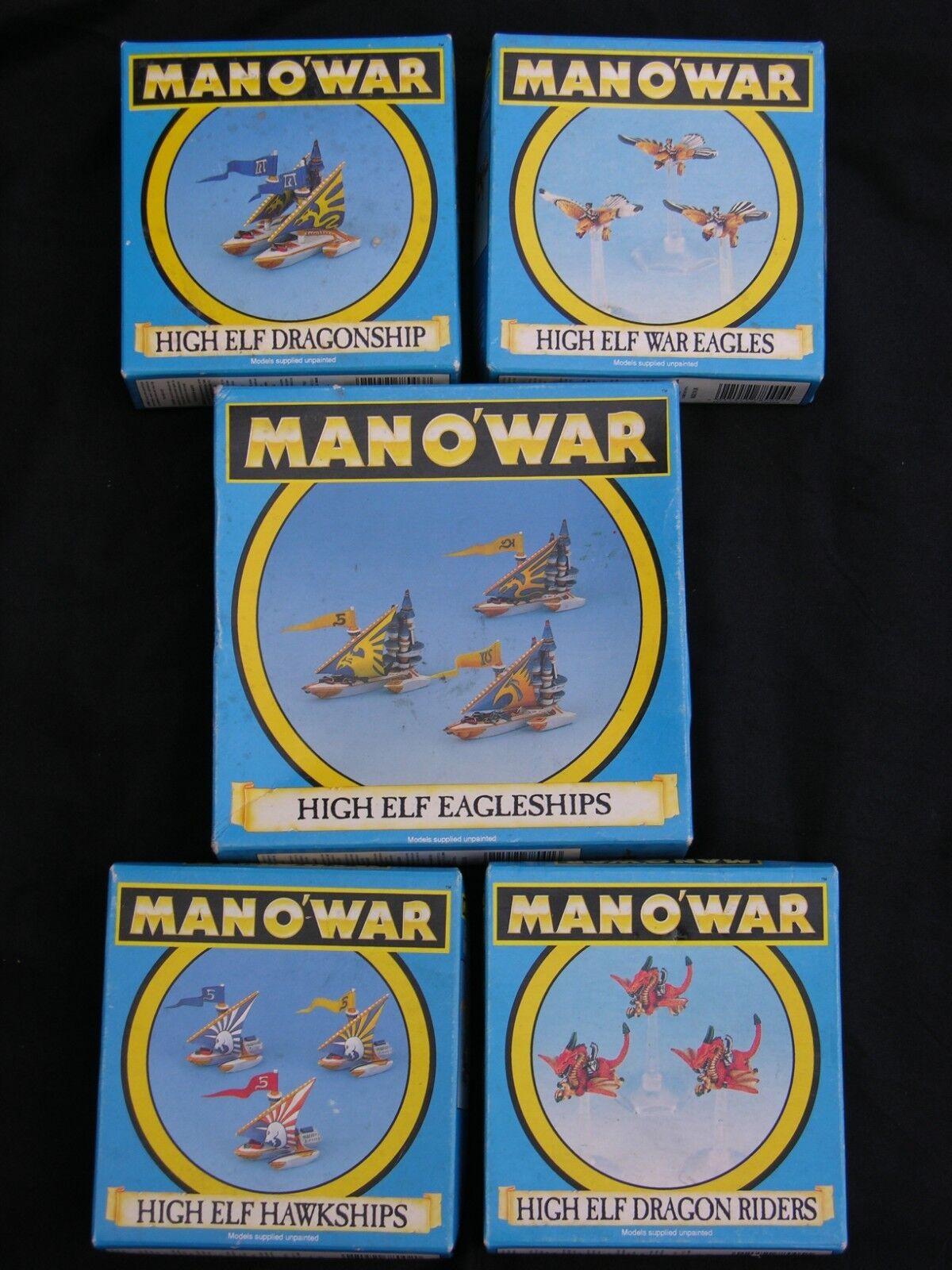 Games Workshop Man Man Man O War, High Elf flotte Multi-annonce a3aae3