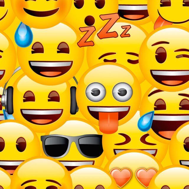 Emoji Pintado Infantil Pared Dormitorio Decoración de Nuevo - WP4-EMO-OJI-20