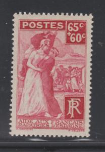 FRANCE-1938-YT-401-RAPATRIES-ESPAGNE-N-MNH-NSC