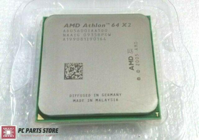 Amd Athlon 64 X2 5000 2 6ghz Am2 Cpu Ad05000iaa5dd For Sale Online Ebay