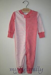 037a8d15a Image is loading HANNA-ANDERSSON-Baby-Organic-Zip-Sleeper-Imagine-Pink-
