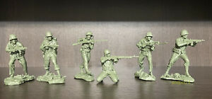 Soldatini di Plastic Platoon Marines americani WW2 1:32
