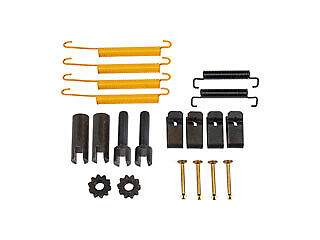 Emergency Brake Hardware Kit For 2001-2006 Chevrolet Silverado 3500; Parking Br