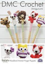 DMC Amigurumi: Woodland Animali Dito Burattini Crochet Pattern
