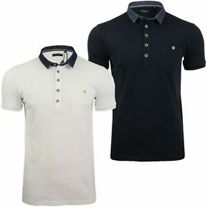 Mens-Polo-Shirt-by-Brave-Soul-039-Seaver-039-Short-Sleeved