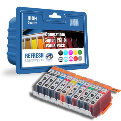 Karren Vorteilspackung Tinte Kompatibel mit Canon Refresh Kartuschen Pgi-9 10
