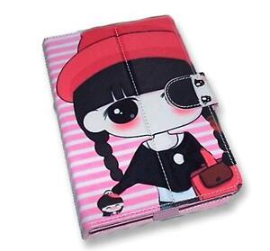 Doll-Pattern-Motif-PU-Flip-Travel-Carry-Case-Book-Cover-for-Google-Nexus-7-UK