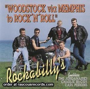 THE-ROCKABILLYS-Woodstock-Via-Memphis-CD-new-Carl-Perkins-rockabilly