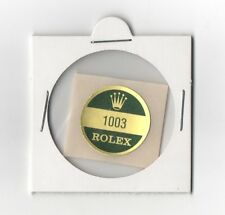1003 ROLEX Sticker Caseback OYSTER PERPETUAL VINTAGE 1960's OEM NEW OLD STOCK