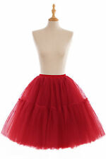 Women Girls 6 layer Tutu Skirt Tulle Skirts Adult Tutu Prom Ball A-line Gown