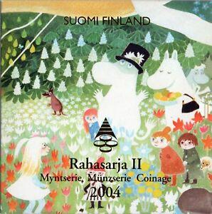 SÉRIE EURO BRILLANT UNIVERSEL (BU) - FINLANDE 2004 II
