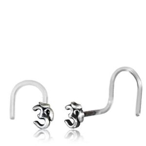 Jewelry Watches Body Piercing Jewelry 20g Sterling Silver Nose
