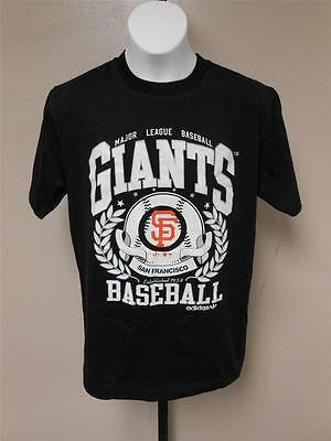 Nett Nwt-mended Mlb San Francisco Giants Jugendliche M Medium 10-12 Adidas T-shirt Buy One Give One