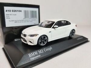 1-43-Minichamps-BMW-M2-Coupe-F87-2016-M-2-Series-F22-Twin-Turbo-I6-Alpine-White