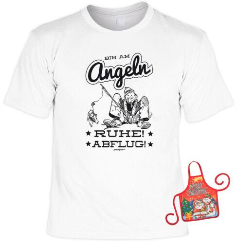 Anglerzubehör Geschenk Sprüche Anglershirt Geschenkset Angler Weihnachten