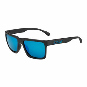 Bolle-Sunglasses-FRANK-Lifestyle-MATTE-BLACK-HD-POLARIZED-OFFSHORE-BLUE