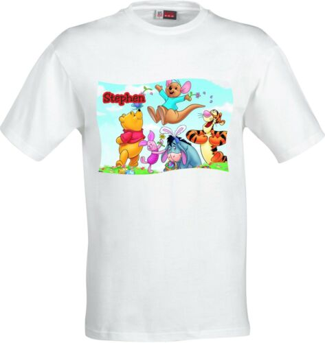 PERSONALISED WINNIE THE POOH FUNNY HUMOUR FULL COLOR SUBLIMATION T SHIRT