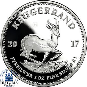 Kruegerrand-2017-Silber-50-Jahre-Jubilaeumsausgabe-in-PP-im-Etui-mit-Zertifikat