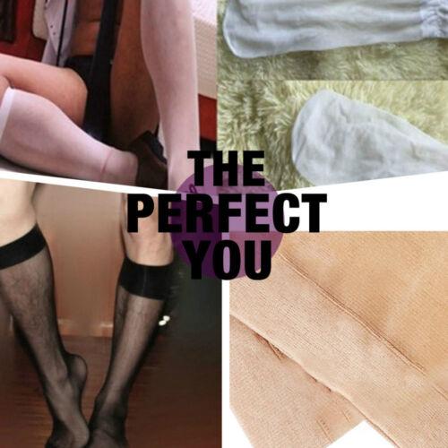 Nylon Comfortable Sheer High Quality Summer Men/'s Silk Stockings TransparentNE8Z