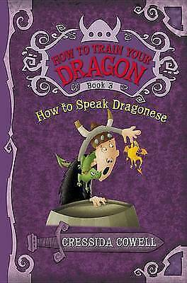 1 of 1 - `Cowell, Cressida`-How To Speak Dragonese  (US IMPORT)  BOOK NEW